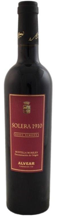 Alvear Pedro Ximenez Solera 1910