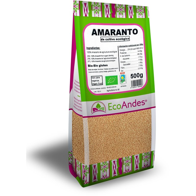 Amaranto Bio 10kg, 1 ud