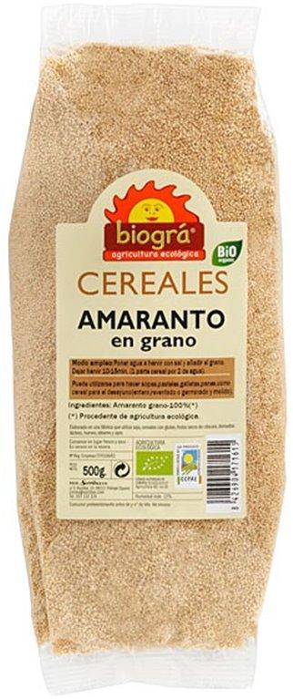 Amaranto en Grano Bio 500g, 1 ud