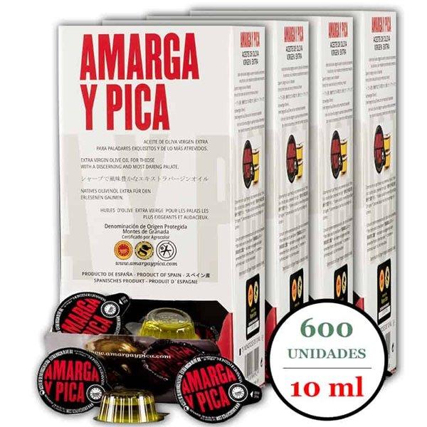 AMARGA y PICA Monodosis 18ml - Pack 4 (600 unid.)