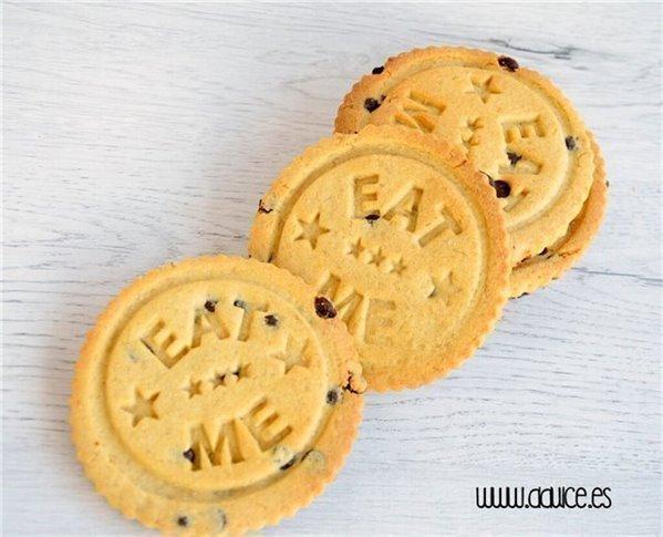 American cookies de vanilla y chocolate