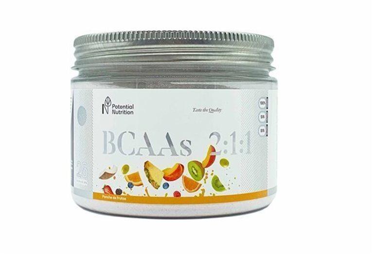 Aminoácidos BCAAs 2:1:1 sabor ponche de frutas – 250G