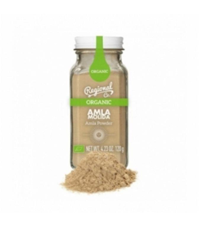 Organic Ground Amla 120gr. Regional Co. 6un.
