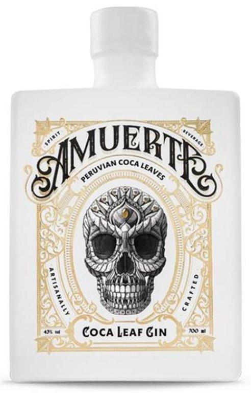 Amuerte Coca Leaf Gin Blanca