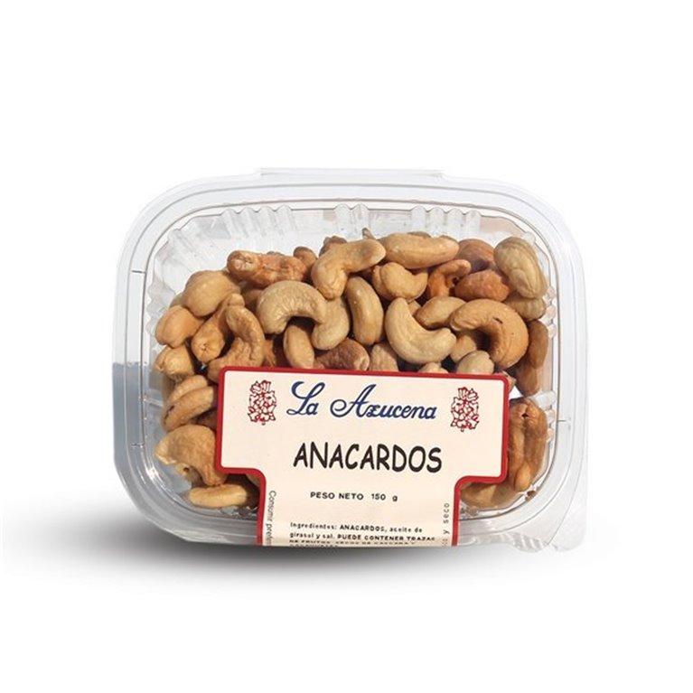 Anacardos CRUDOS gigantes La Azucena. Envase de 150g