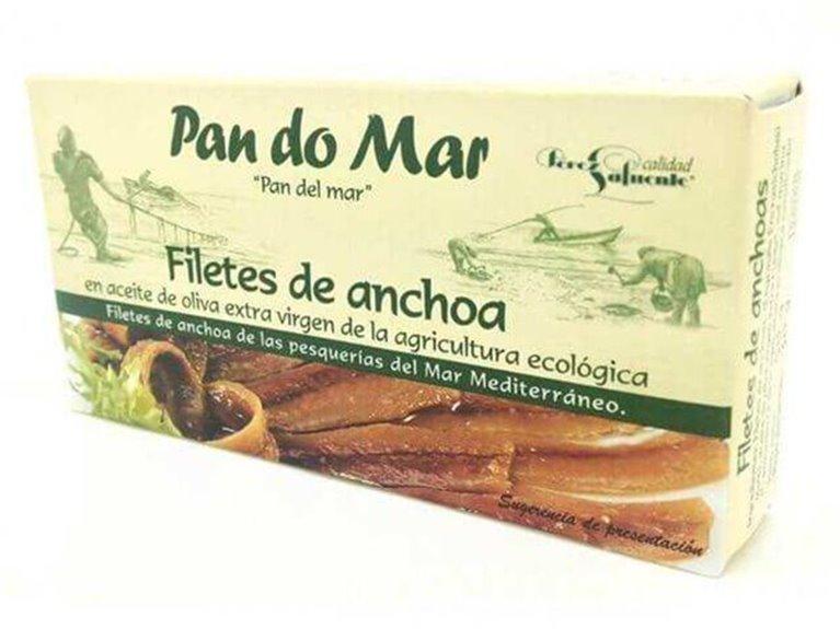 Anchoas BIO en aceite de oliva - Pan do Mar