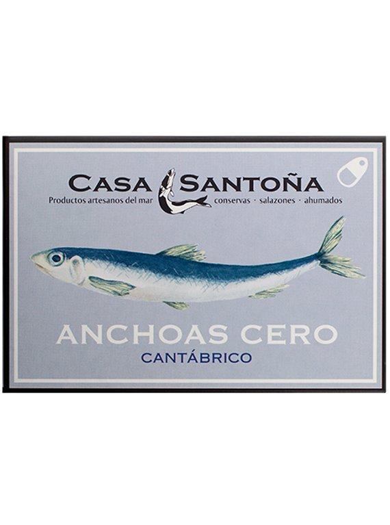 Anchoas del Cantábrico 0 Casa Santoña Lata Hansa