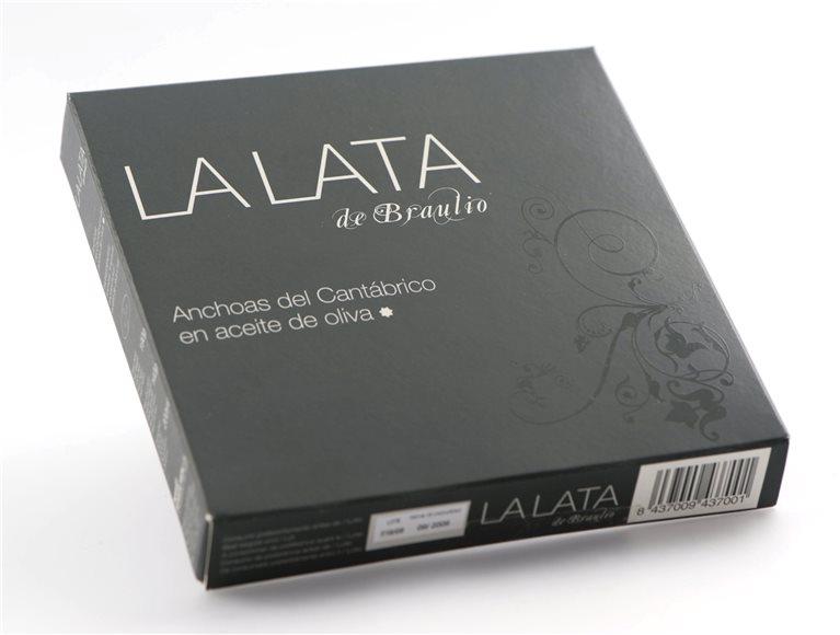Anchoas del Cantábrico La Lata  120G