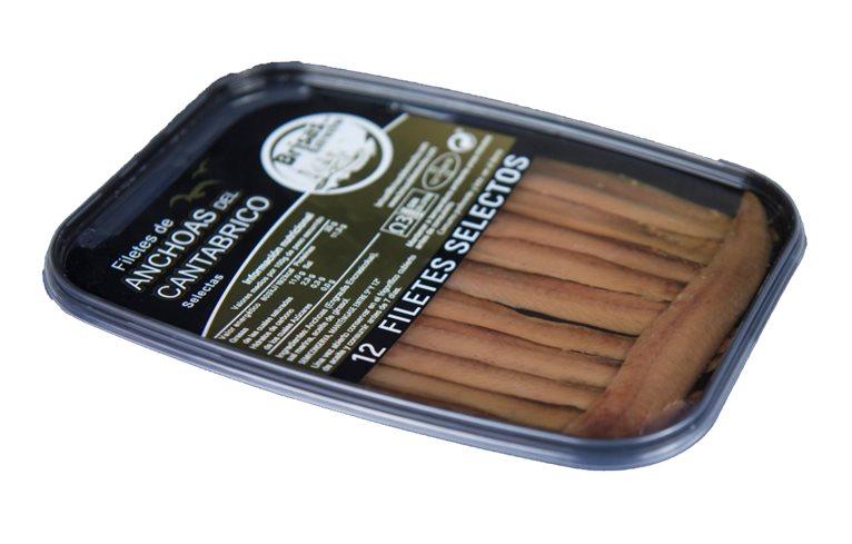 Anchoas del Cantábrico Selectas 12 filetes