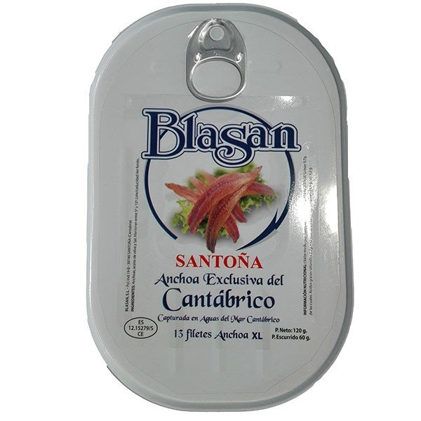Anchoas Santoña Premium
