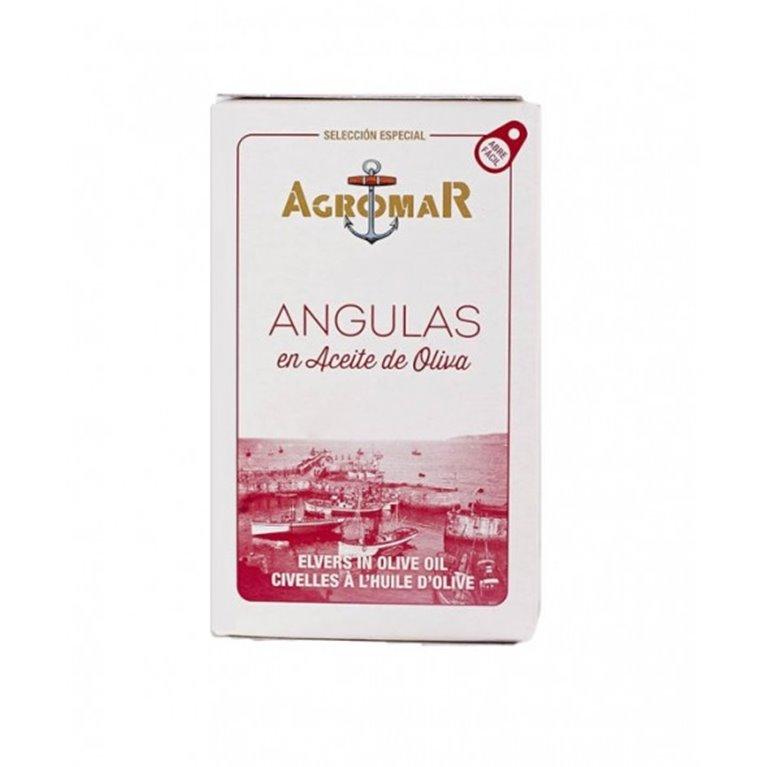 Angulas en Aceite de Oliva Agromar 115 gr., 1 ud