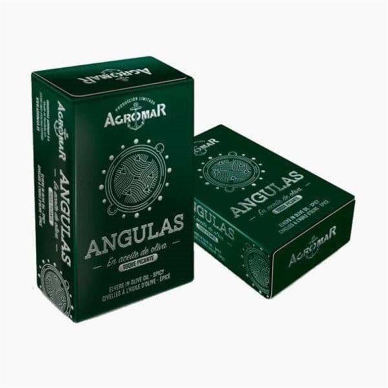 Angulas en Aceite de Oliva con toque picante 115g Agromar