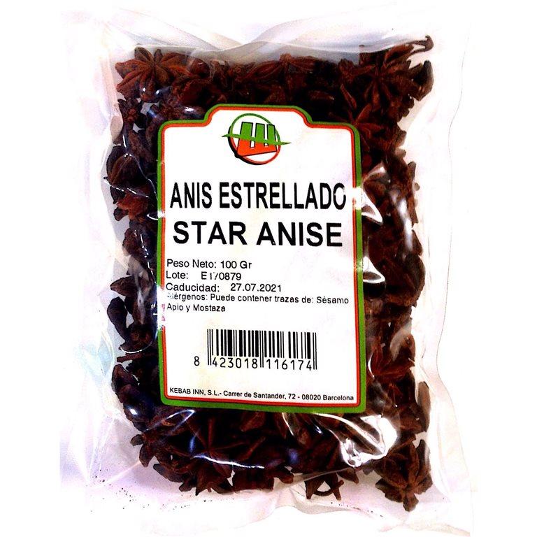 Anís Estrellado 100g, 1 ud
