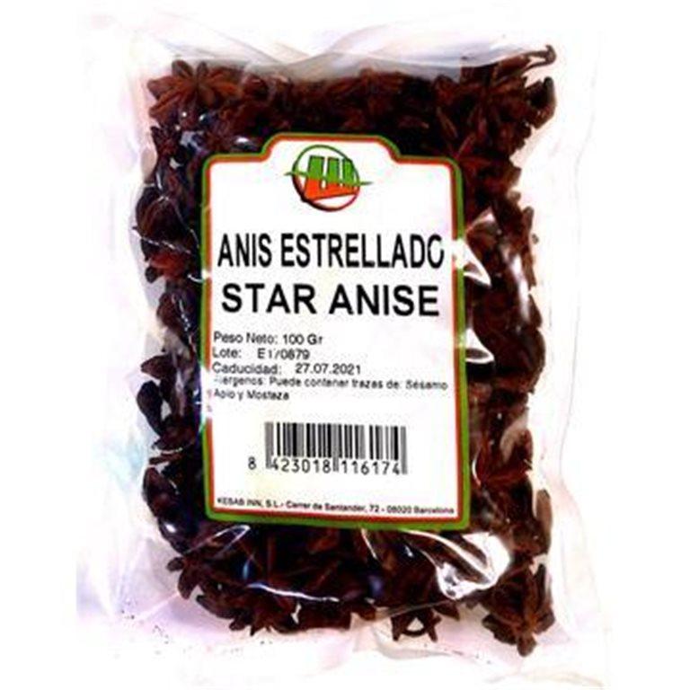 Anís Estrellado 1kg, 1 ud