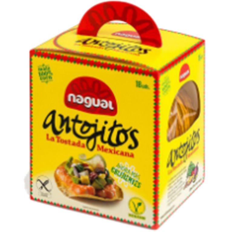 Antojitos Tostadas Mexicanas Sin Gluten 200g (18 Fajitas)