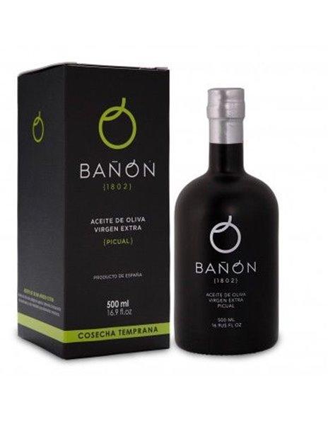 AOVE Bañón. Botella 500 ml.
