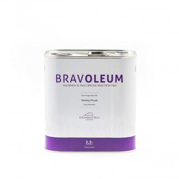 AOVE Bravoleum Picual. Lata de 2,5 litros.