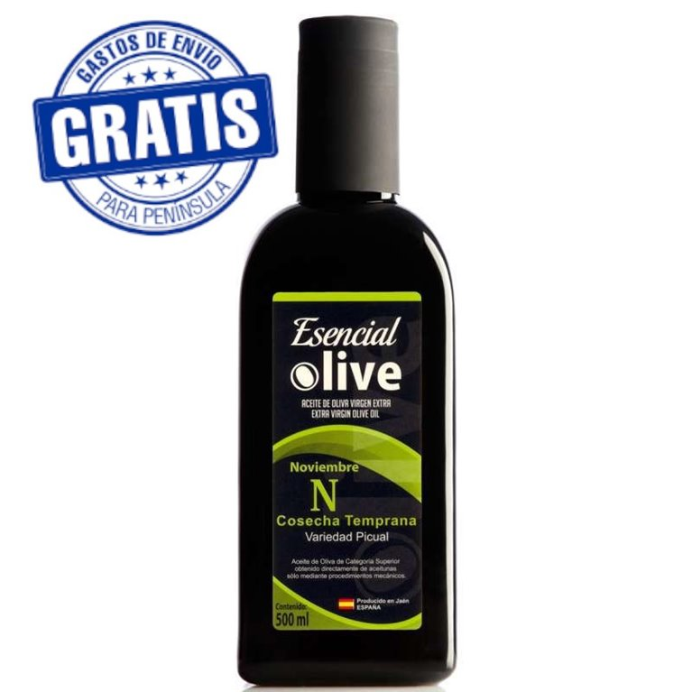 AOVE Esencial Olive Noviembre. Caja de 12 x 500 ml.