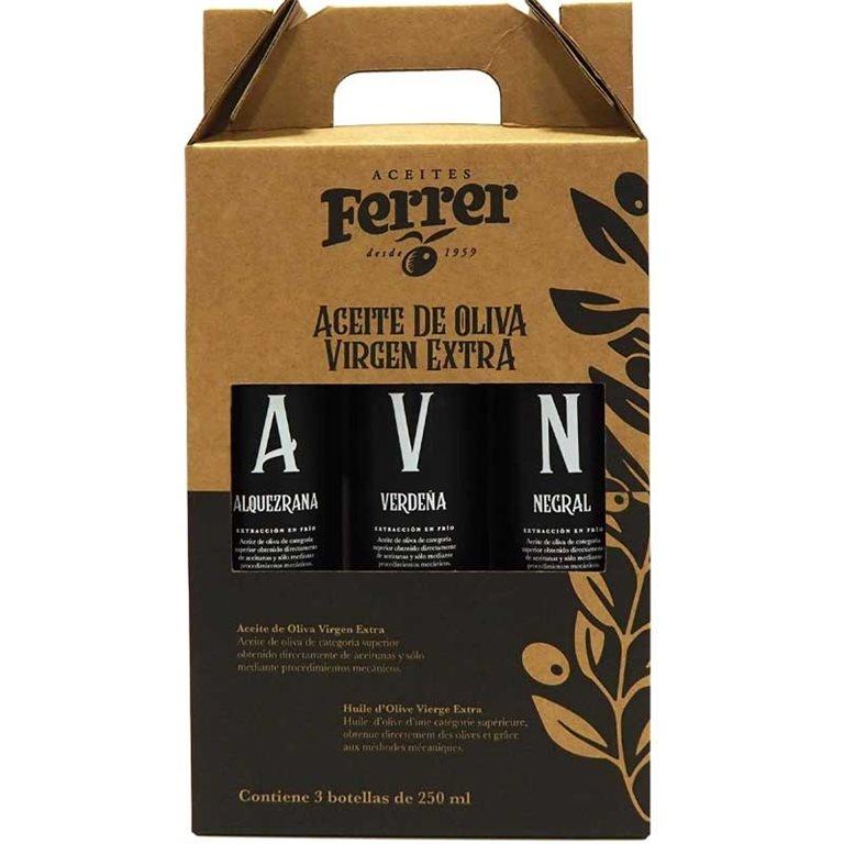 AOVE Ferrer Pack Monovarietales