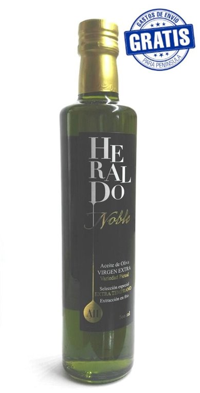 AOVE Heraldo Noble. Caja de 6 x 500 ml.
