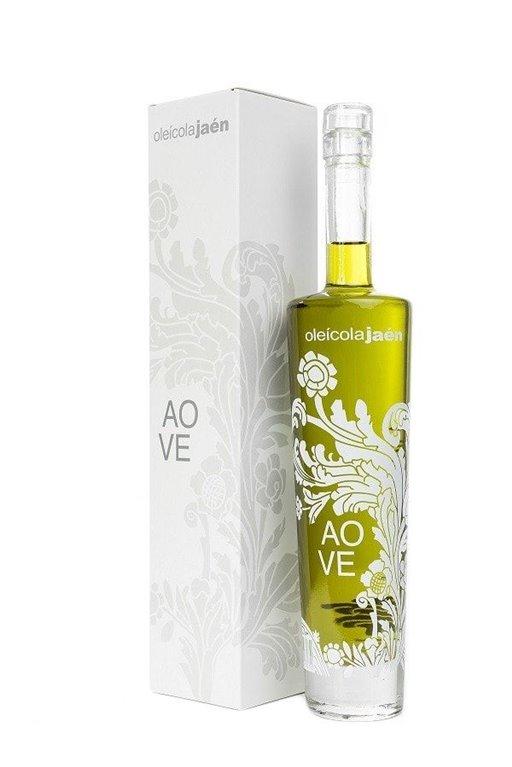 AOVE Oleicola Jaen. Estuche Regalo con botella Especial de 500 ml, 1 ud