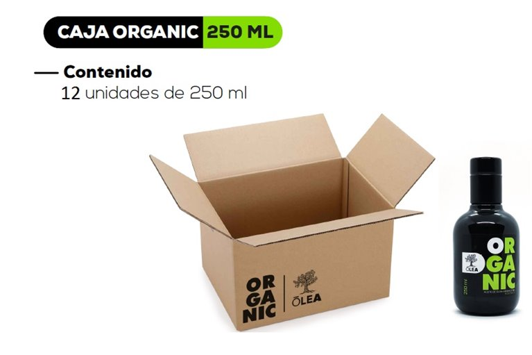 AOVE ORGANIC - 12 Botellas de 750 ml