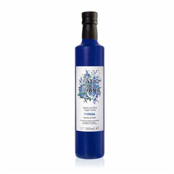 AOVE Patio de Viana Picual 500ml Botella Azul