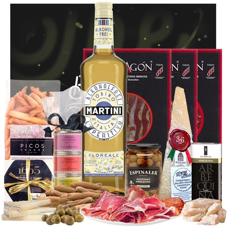 Aperitivo Gourmet & Vermut Sin Alcohol Martini Florale