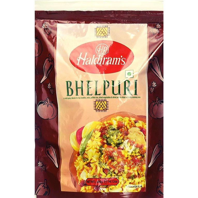 Aperitivos Bhel Puri para ensalada | Haldiram Bhel Puri 200g