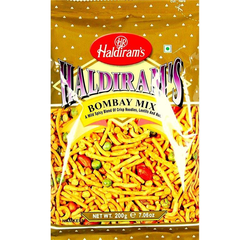 Aperitivos Bombay mix | Haldiram Bombay mix 200g