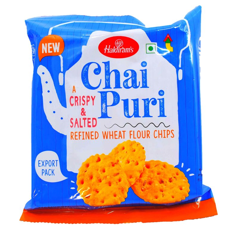 Aperitivos Chai Puri Galletitas | Haldiram Chai Puri 200g