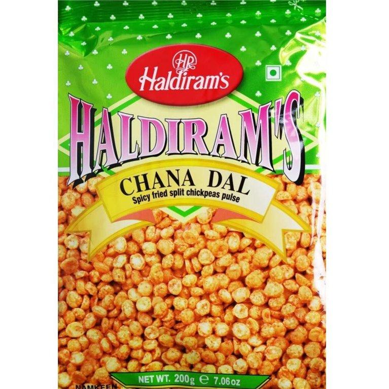 Aperitivos Chana dal Garbanzos | Haldiram Chana dal 200g