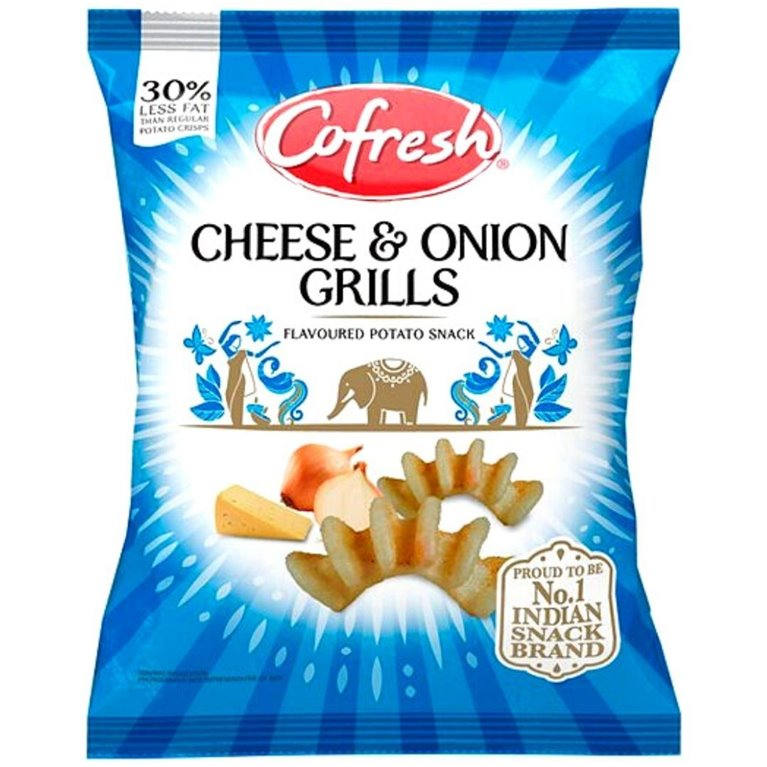 Aperitivos Cheese & Onion Grills Potato Snack | 80g
