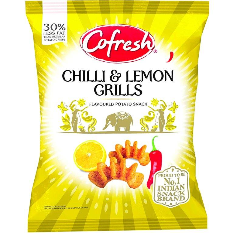 Aperitivos Chilli & Lemon Grills Potato Snack | 80g