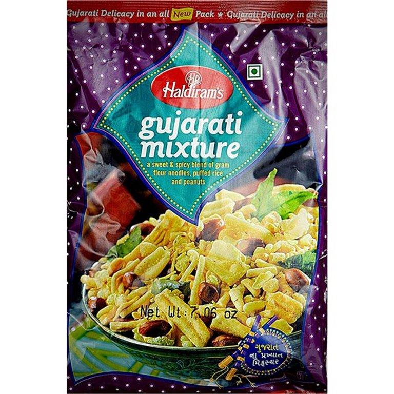 Aperitivos Gujarati Mixture | Haldiram Gujarati Mixture 200g