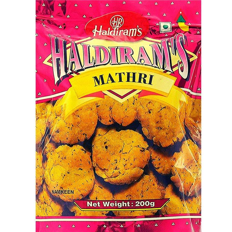 Aperitivos Mathri | Haldiram Mathri 200g