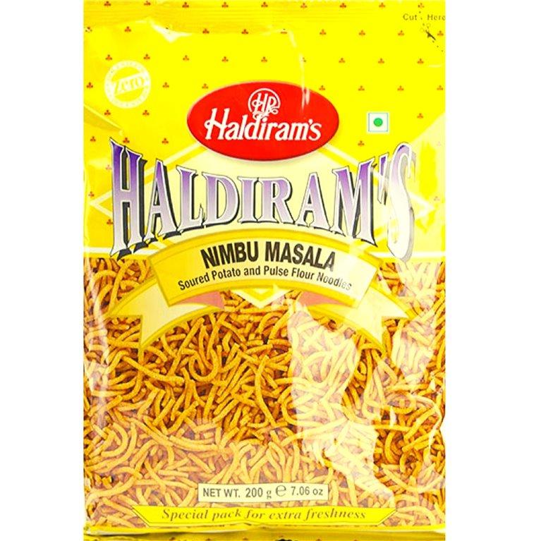 Aperitivos Nimbu masala | Haldiram Nimbu masala 200g