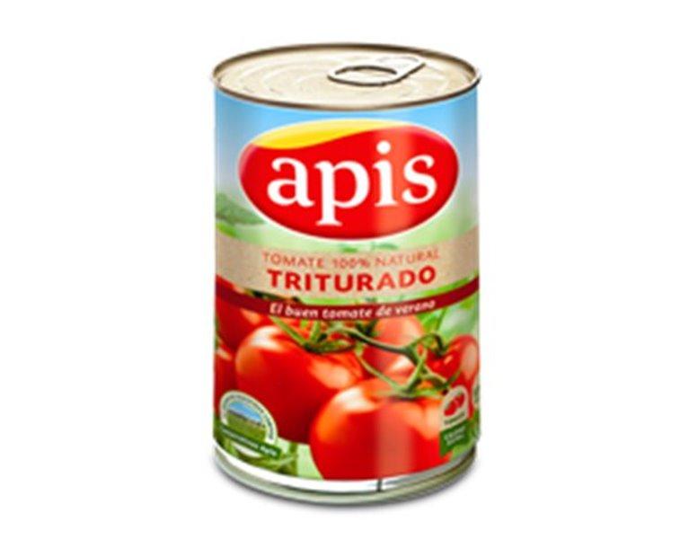 Apis - Tomate 100% natural triturado (lata 400 gr)