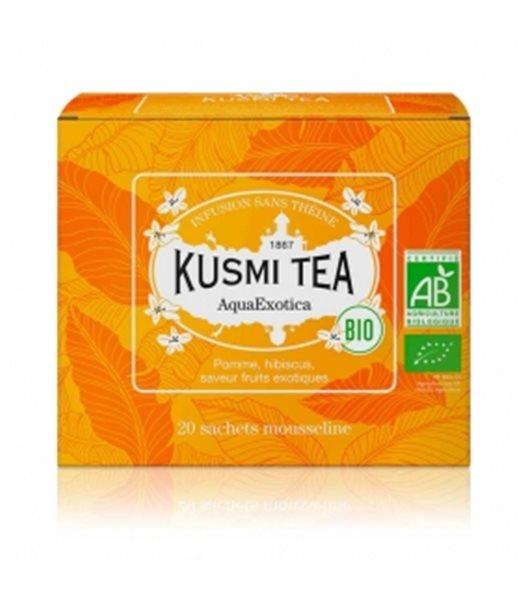 AquaExotica BIO 20 Muslins. Kusmi Tea. 12ud.