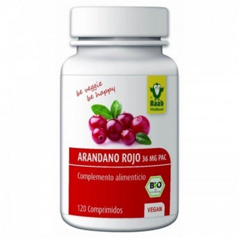 Arándano Agrio Rojo 120 Comprimidos, 1 ud