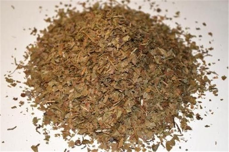 Arándano hojas, bandeja 100 gramos, 1 ud