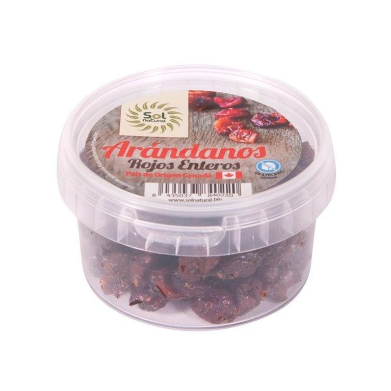 Arándanos Rojos Enteros (Sin Azúcar) Bio 125g