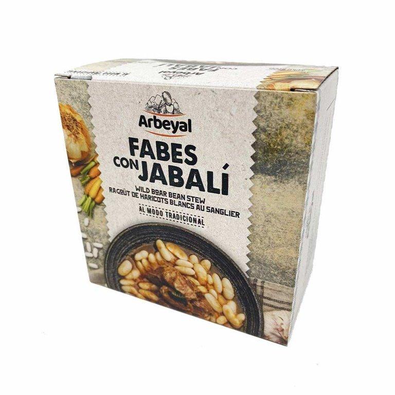 Arbeyal Fabes con Jabalí 420g