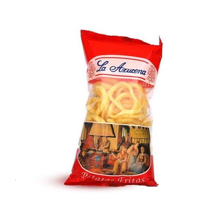 Aros de cebolla La Azucena. Bolsa de 60g