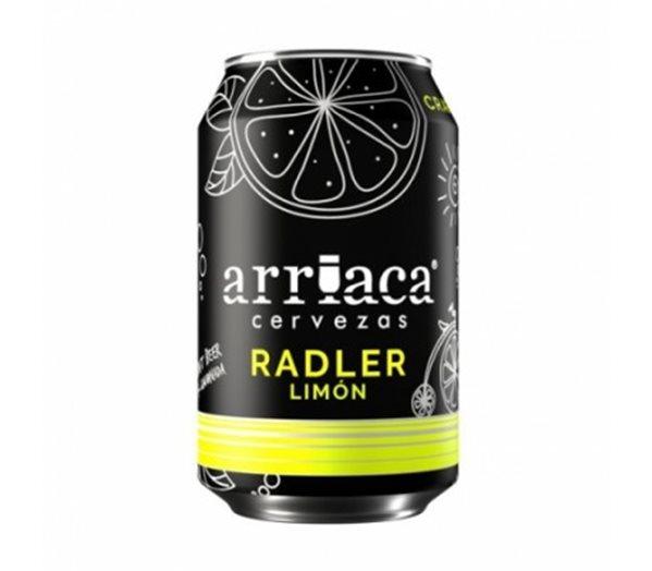 Arriaca Radler, cerveza artesana con limón (lata)