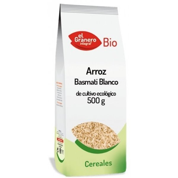 Arroz Basmati Blanco Bio 500g