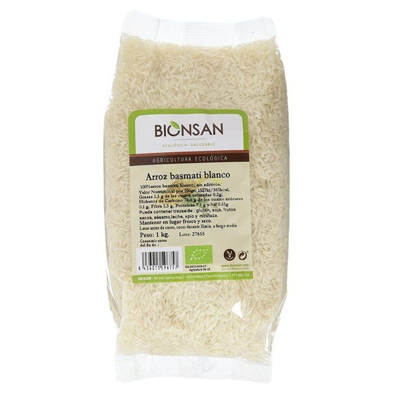 Arroz basmati blanco ecológico -1kg