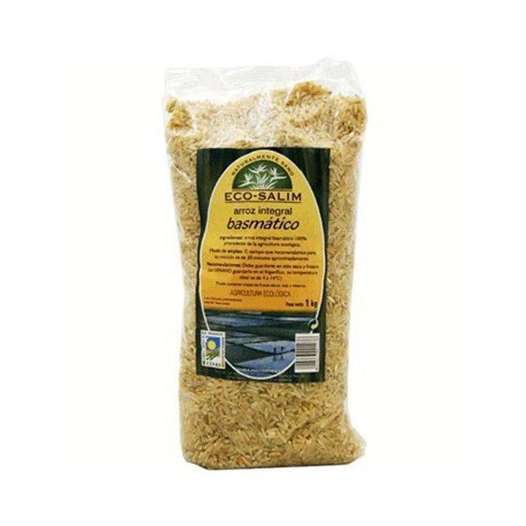 Arroz Basmati Integral Bio 1kg, 1 ud