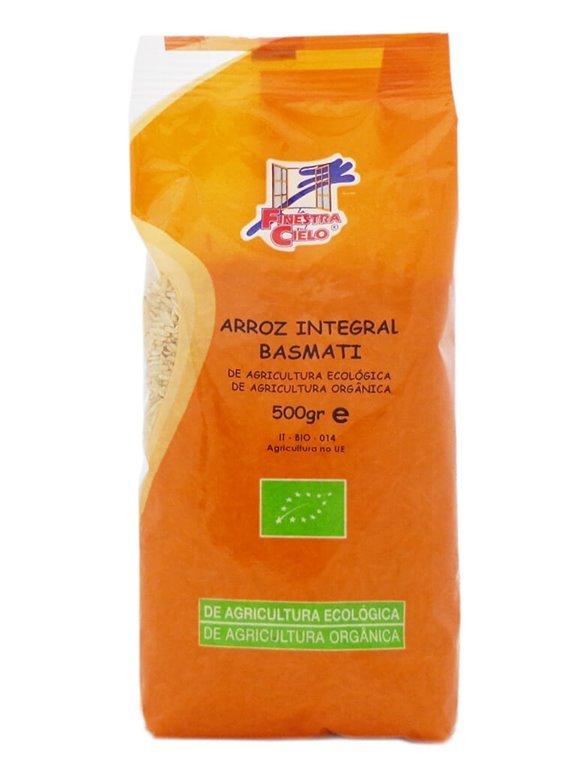 Arroz Basmati Integral, 500 gr