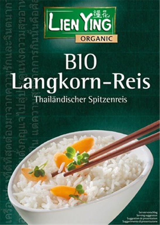 Arroz blanco largo Thai, 250 gr
